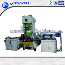 Airline aluminum foil container/plate/case/bowl/cup/tray machine