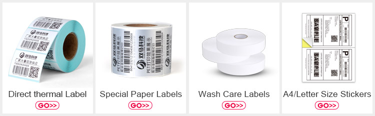 Custom jewellery barcode sticker labels with your designs spacing Adhesive barcode or QR code