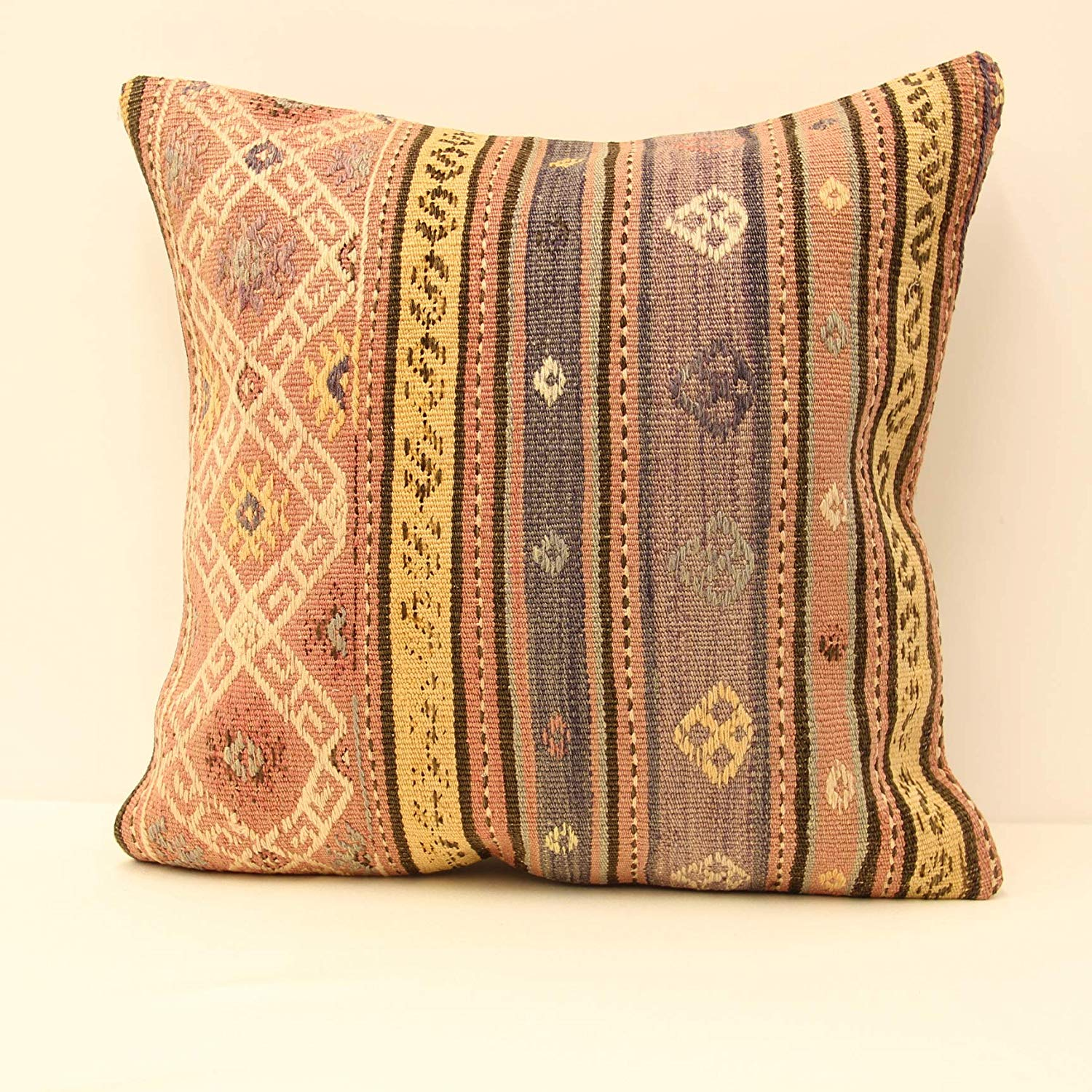 . Buy 20x20 inch 50x50 cm embroidery turkish kilim pillow Home Kitchen
