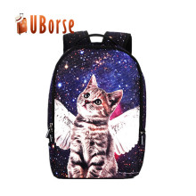 Hot Selling Durable Custom Design Travel Cat Daypack Packbag Pack Shoulder Backpack Bag Fashion School Bag for Girl
