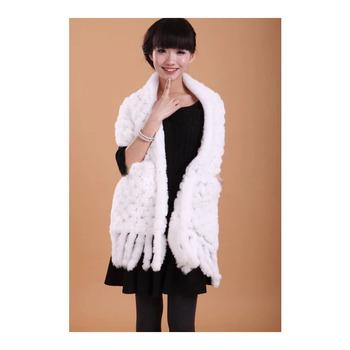 7eaaf423d Real Rex Rabbit Fur Scarf rex rabbit fur shawl elegant rabbit fur capes