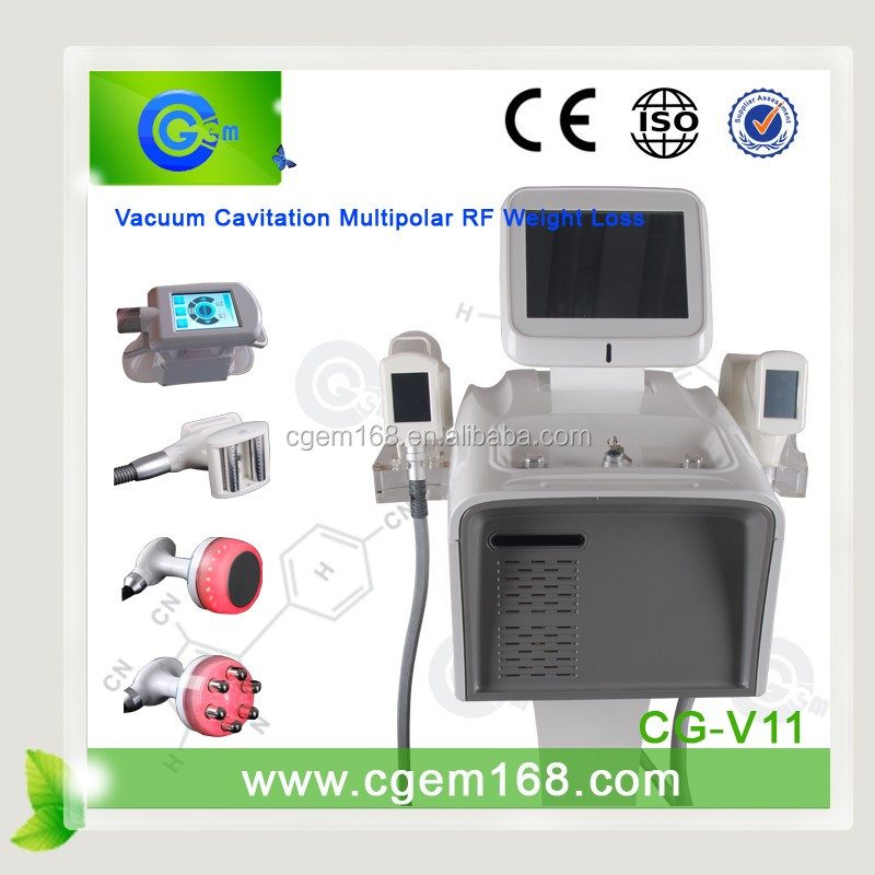 Vacuum Liposuction+Infrared Laser+Bipolar RF+Roller Massage Slimming Machine CE