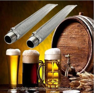 "Screwed Joint Bazooka Screen 1/2"" NPT Homebrew Beer Mash Filter Tube Stainless Steel"