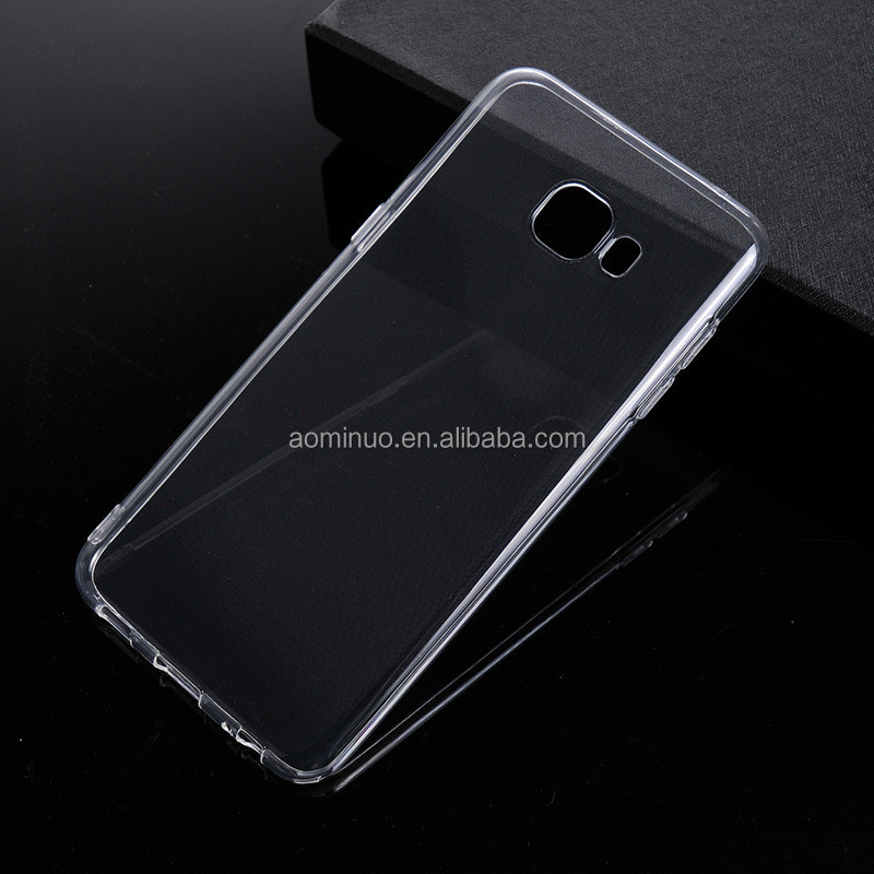 d4d31c327ef Ultra delgado claro transparente suave Gel TPU caso para Samsung Galaxy S6  S7 borde S8 S9