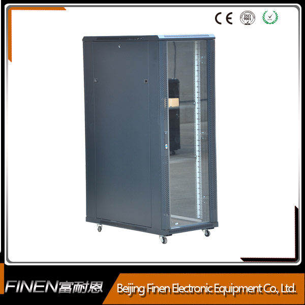Beautiful Glass Door Server Cabinet
