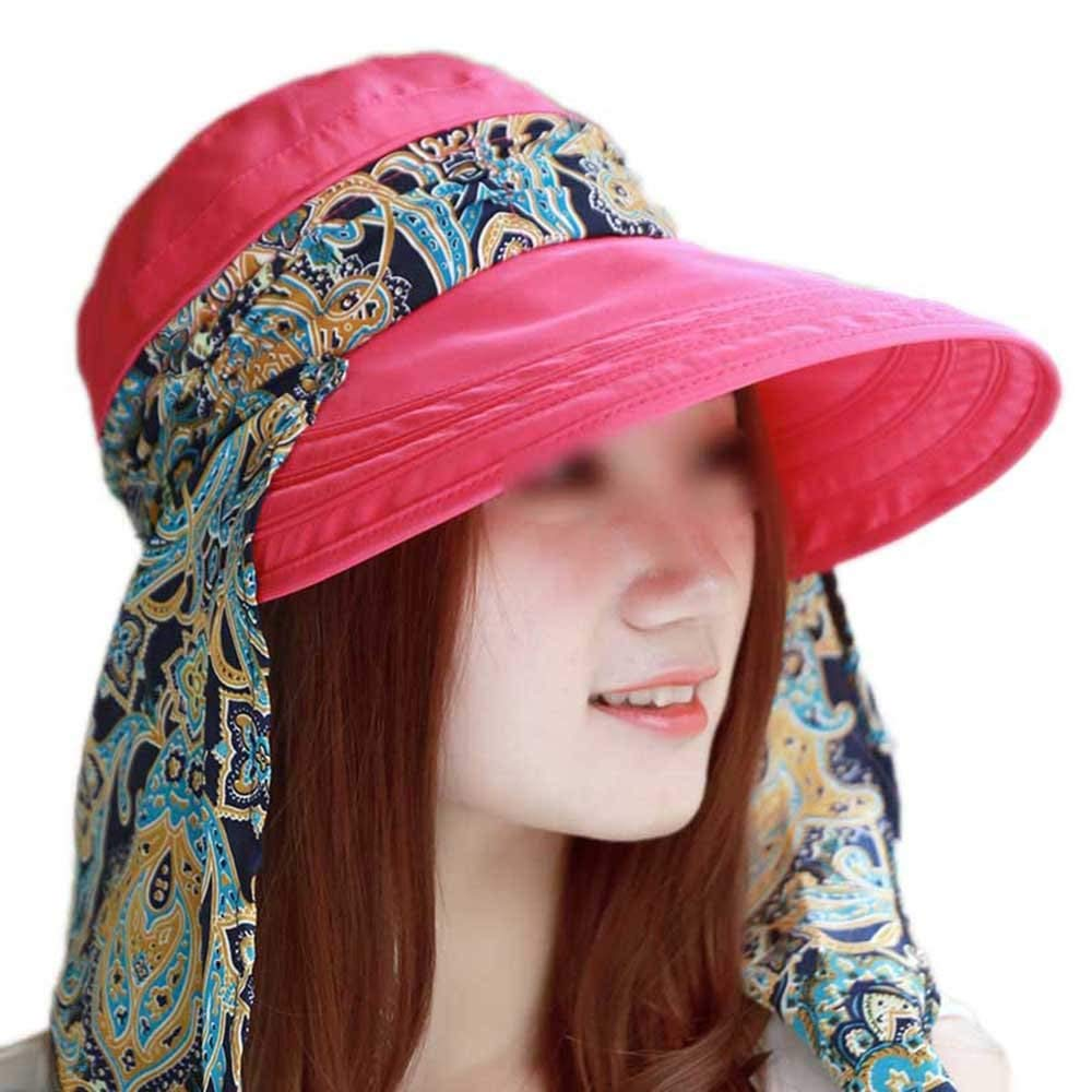 c1d6ce4dcde Get Quotations · LOVEHATS Fahion Women Lady Girls Summer Hats Beach Hat Sun  Visor Hat Visor Sun Hats