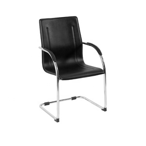 GY-4029 PVC and chrome frame for meeting office visitor chair