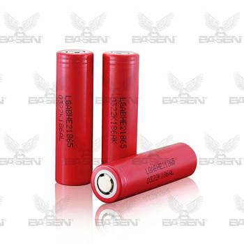 lg 2500mah 20a 18650 battery LG he2 21865 battery rechargable battery