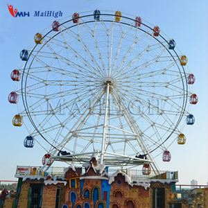 Customized New Fashion Experience Factory Manufacture China Amusement Park Sight Seeing Ferris Wheel