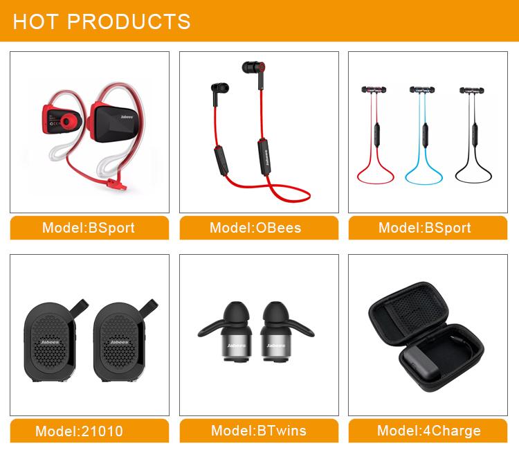 Custom Compact Bulk Earbuds Sweatproof Wireless Bluetooth Earset Bass Earphones