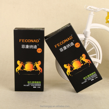 Manufacturers customized high-end adult supplies delay spray product packaging boxes,sex Carton