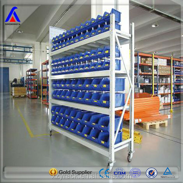 mobile move with wheel Commercial Racks factory supplier
