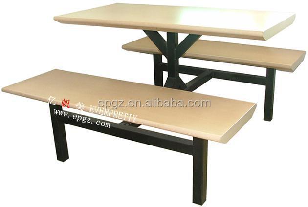 Cafetería Bancos Con Mesas Muebles De Madera Contrachapada/madera ...