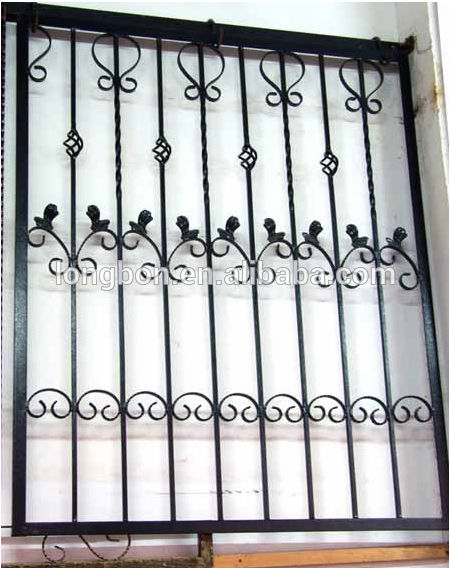 Top 2015 Top - Vente Moderne Fenêtre En Fer Forgé - Buy Product on  VU63