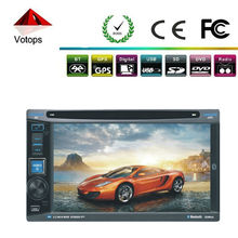6.2inch touch screen car dvd built-in gps /bluetooth/ am/fm radio/tv