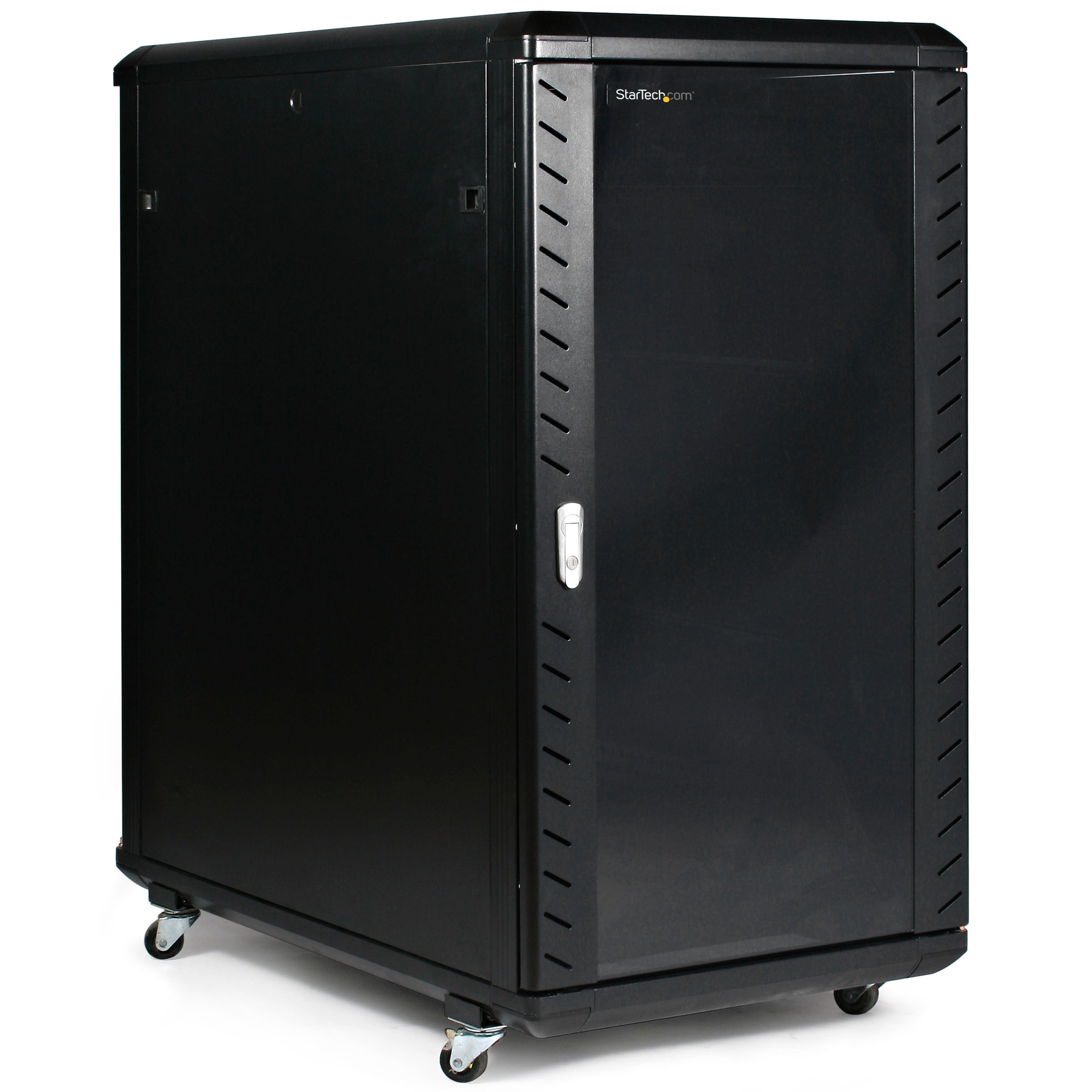 Get Quotations · StarTech.com 22U 36in Knock Down Server Rack Cabinet With  Caster To Store Your