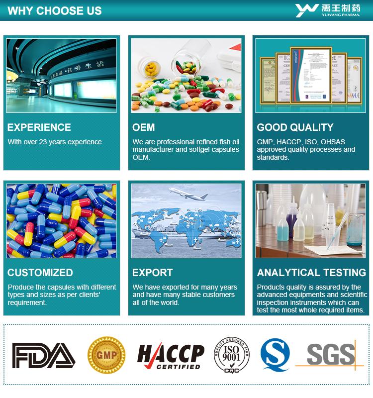 Producto de belleza con GMP certificado multi vitamina cápsula o tablet