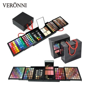 177 Color Eyeshadow Palette Blush Lipgloss Brow Powder Concealer Eyeshadow Brush All In One Cosmetics Makeup Set Shimmer