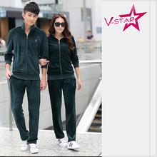 Couple Velvet Tracksuit Wholesale 3793f636f6c0