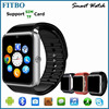 1.54INCH sync video call anti-lost leather wrist watch phone for HTC One M9