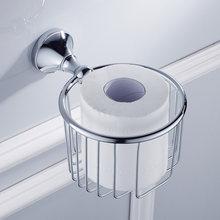 Белый держатель туалетной бумаги черный золотой хромированный бронзовый Винтажный Туалетный столик для ванной комнаты бумажная вешалка д...(Китай)