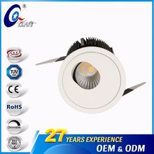GuangDong 720Lm 9W Wall Washer Downlight Ceiling Led Lighting