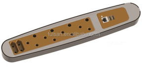 230V South Africa Power Strip SANS164 Standard