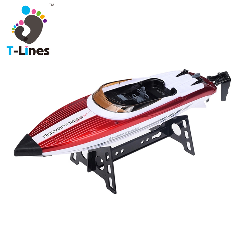 2.4G 4ch high speed nqd rc boat with charger
