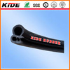 PV-30 Black EPDM rubber seal with metal wire inside automotive pinchweld trim seal