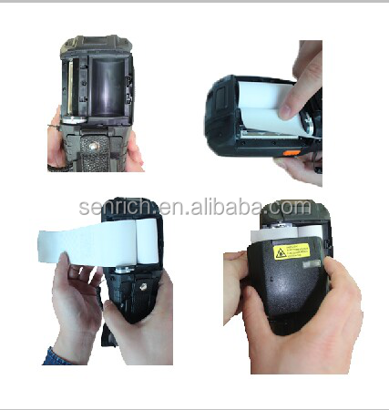 Handheld Barcode Scanner Pda With Themal Printer Factory Price ...