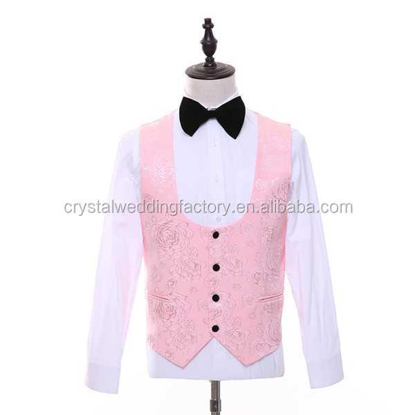 Jacket + Vest + Pants Custom Made Men Suits Latest Coat Pant ...