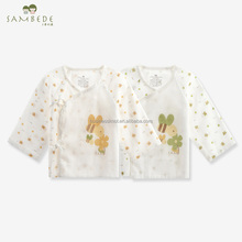 SAMBEDE 0-3 Monate Baby Kleidung 100% Baumwolle Sommer Gaze Stoff Baby <span class=keywords><strong>Kimono</strong></span> <span class=keywords><strong>Unterwäsche</strong></span> SM9262