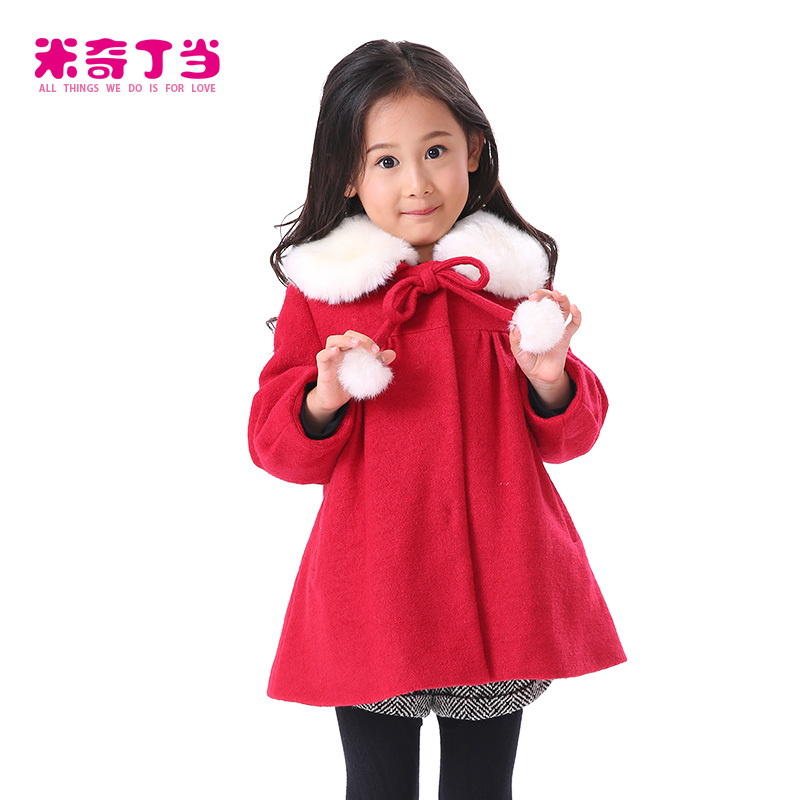 Very Warm Winter Coats New Cute Kids Girls Coat Clothes Children ...