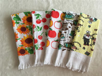100% cotton terry toweling printed kitchen tea towel