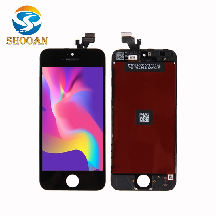 Display LCD + Substituição Touch Screen Digitizer Assembly para iPhone 5, original completo da Foxconn (oem)