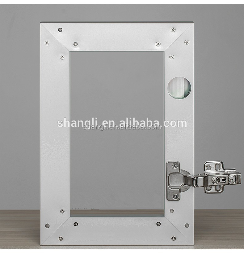 Aluminum Profile For Kitchen Cabinet Glass Door Metal Frame