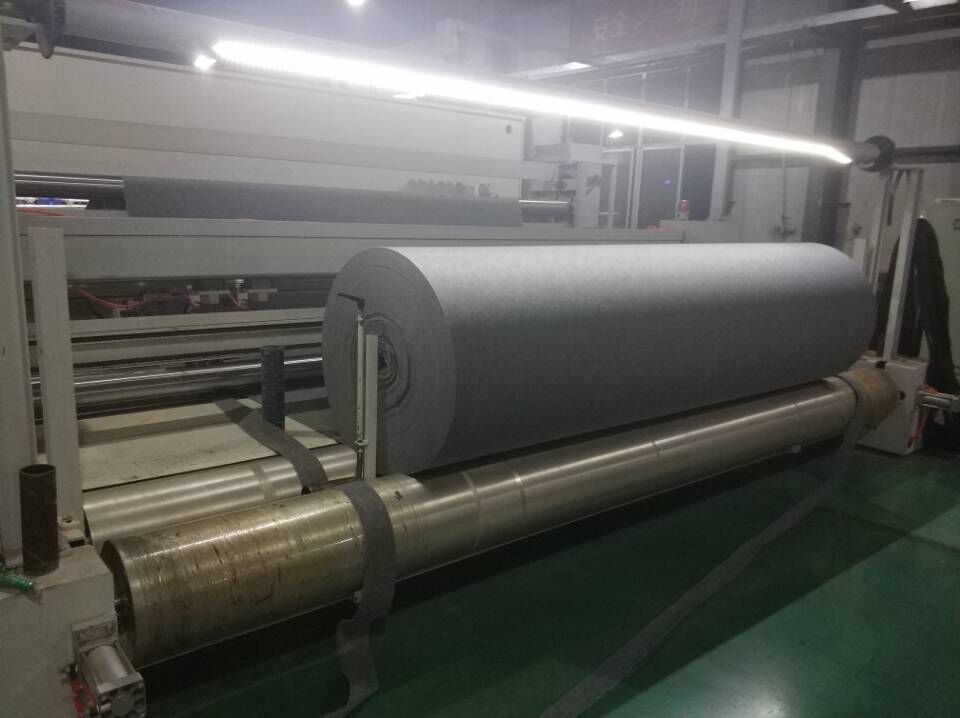Factory price 4M width 50 Meters long roll exhibition use  non woven Needle punch carpet