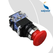 Saipwell CE Red Push Button China Supplier Button Switches Electrical Push Button Kill Switch