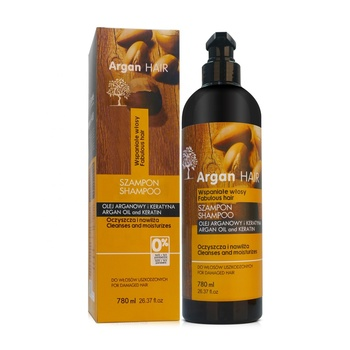 780ML OEM/ODM Professional Argan oil nourishing hair shampoo with protein