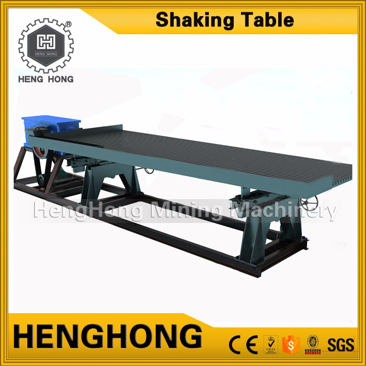 Best price durable best performance gold mining palladium concentrate shaking table