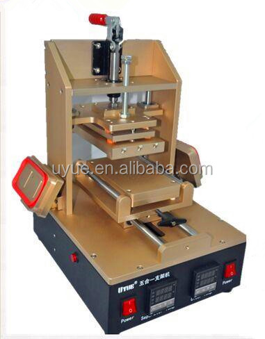 Multifunctional Mobile screen Frame Laminator Machine for Iphone 4 5 6 + Vacuum LOCA OCA Glue Remove Machine