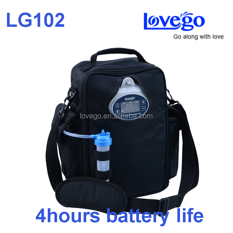 Newest 5LPM 90% purity medical portable oxygen concentrator Lovego G2