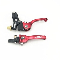 high quality 7/8'' 22mm adjustable asv brake clutch lever folding for Dirt Pit Bike Motocross Off road ATV