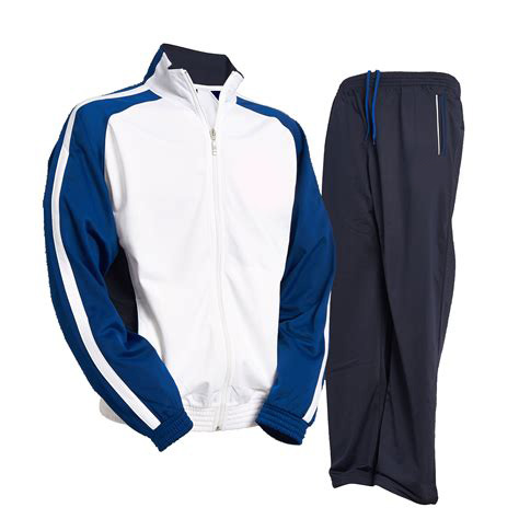 school training uniform sports jogging tracksuit custom polyester track suit