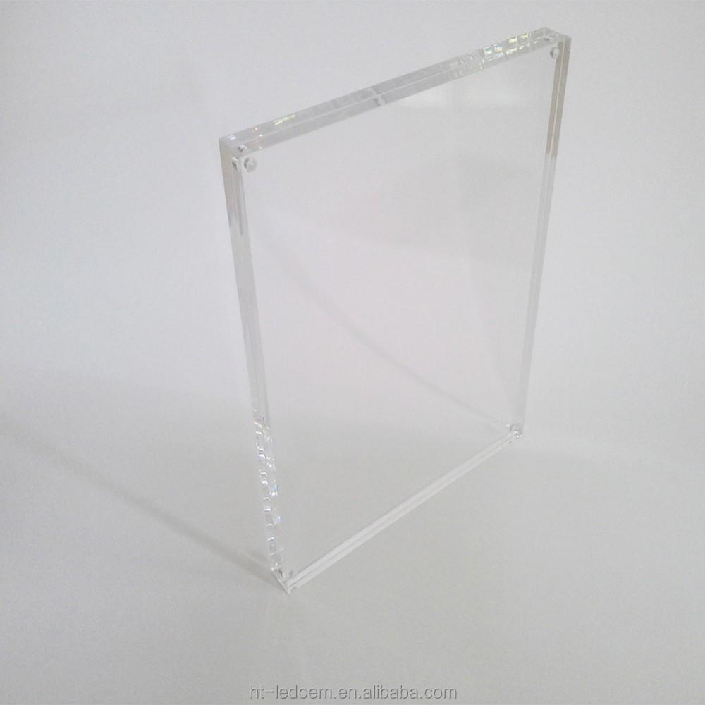 3.5 pulgadas x 5 pulgadas sin marco de acrílico marco de fotos ...