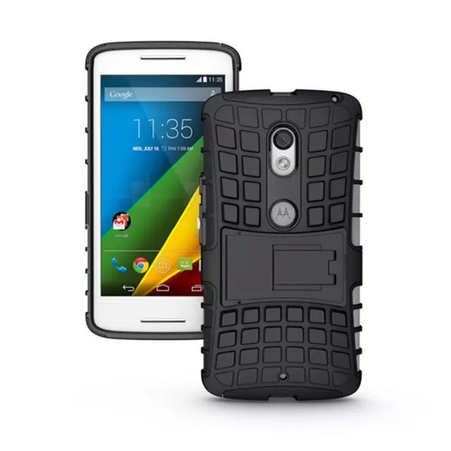 Kickstand Case for Motorola Moto X Play, For Moto X Play Case, Shockproof Case for Moto X Play