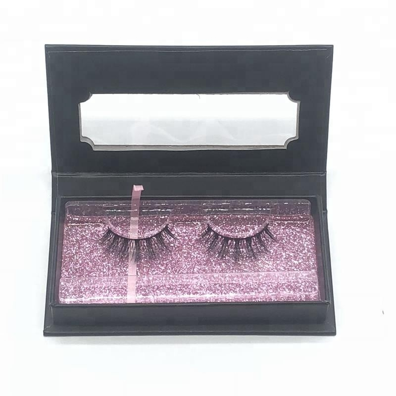 Wholesale 3D Silk Lashes faux mink lashes make up eyelashes