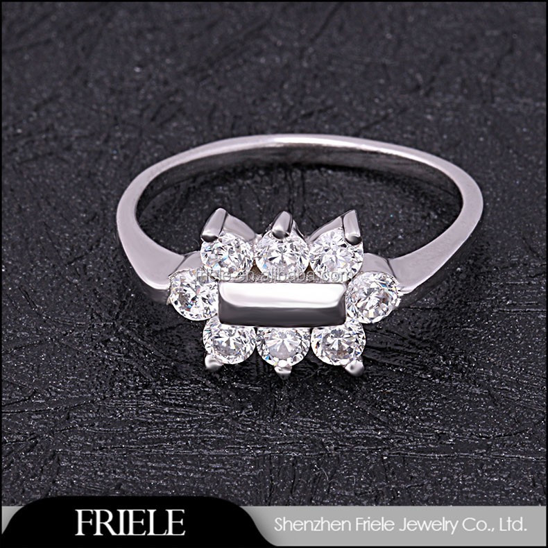 Factory New Collection Walmart Jewelry Rings Solid Silver Aaa Zircon  Fashion Ring Design   Buy Ring Design,Fahion Ring,Walmart Jewelry Rings  Product On ...