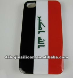 Iraq flag phone case for iphone/samsung Galaxy S3