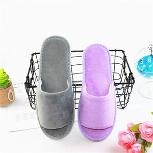 Hot sale Terry Towel Eva Sole Wholesale cheap fashion soft Bathroom spa slippers